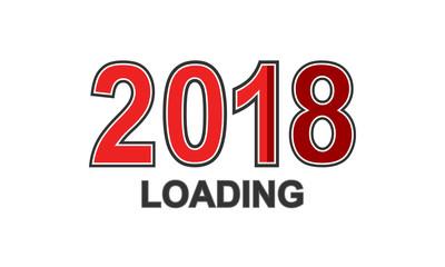 2018 loading - Schwarz/ Rot