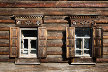 Old wooden house, Kostroma, Russia
