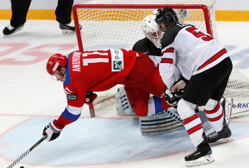 Euro Hockey Tour - Channel One Cup - Russia v Canada