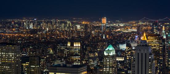 New York by night