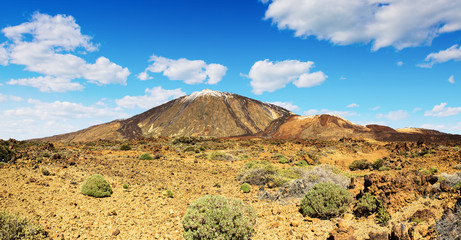 The Teide volcano in Tenerife Spain Canary Islands