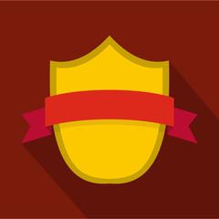 Badge modern icon. Flat illustration of badge modern vector icon for web