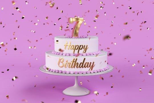 Geburtstagstorte 7 Jahre
