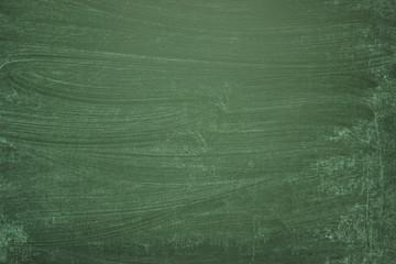 Green blackboard, blank background of school board