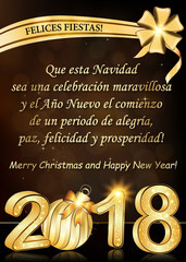Search photos business greeting card spanish greeting card text translation may this christmas be a wonderful celebration and the m4hsunfo
