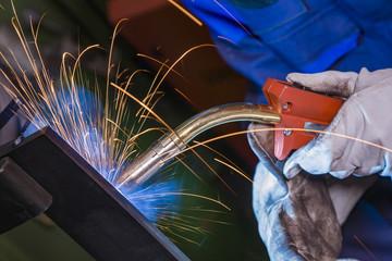 MAG welding torch