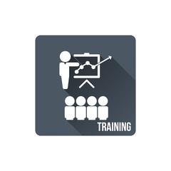 Training icon , EPS10 vector