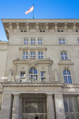 Der Verfassungsgerichtshof in Wien, Österreich