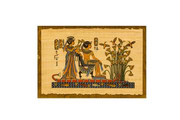Egyptian original papyrus