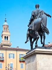 Aluminium Prints Historic monument Monferrato
