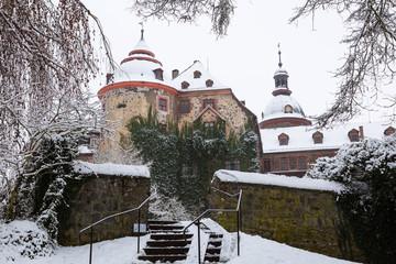 Schloss Laubach verschneit V