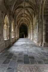 Cloister of the Evora Cathedral.
