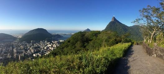 Fototapete - panorama of rio de janeiro, brasil