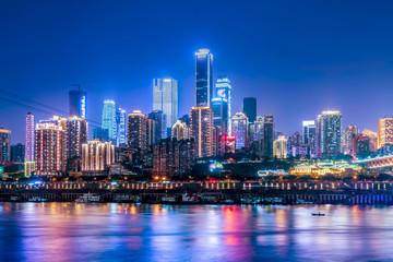 Urban architectural landscape and skyline
