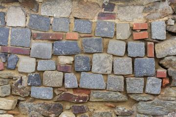 Old stone masonry. Background texture