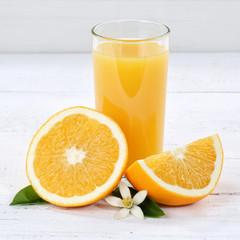 Orangensaft Orangen Saft Orange Textfreiraum Quadrat Copyspace Fruchtsaft Frucht Früchte