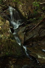 Crater Falls on Lake Lilla Track in Cradle Mountain NP in Tasmania