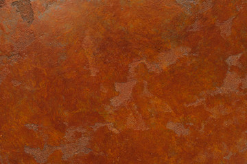 Rusty background with stains and scratches