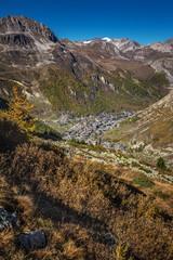 Skiort Val De L'Iseran