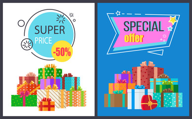Super Price Special Offer Icon Vector Illustration
