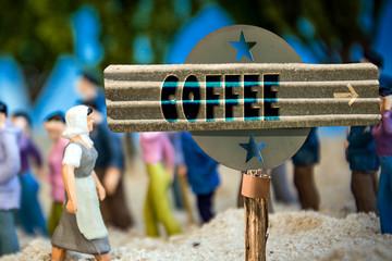 Schild 310 - Coffee