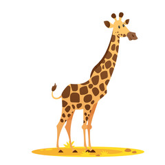 illustration of giraffe