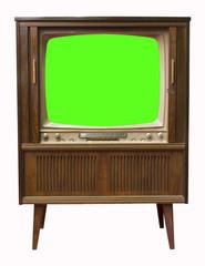Fernseher green screen