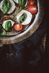 Roasted Caprese Salad