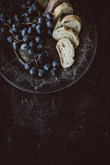 Grapes and Bread