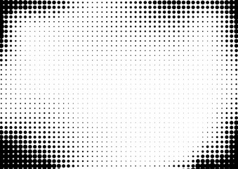 Halftone dotted background for business design