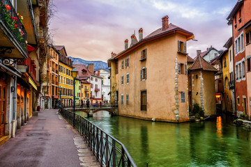 Wall Mural - Annecy Old Town, Savoy, France