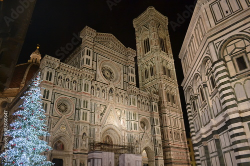 Christmas In Florence Italy.The Magic Of Christmas In Florence Italy Stock Photo And