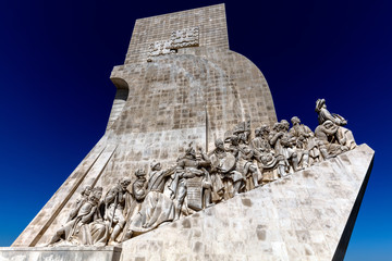 Monument to the Discoveries, architect Cottinelli Telmo, sculptor Leopoldo de Almeida, inaugurated in 1960 to commemorate the country's golden age of world expansion