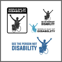 WHEEL CHAIR, DISABILITY IS A PERSON TOO