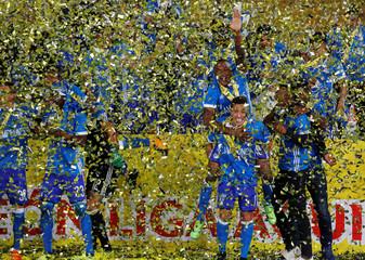 Football Soccer - Colombia First Division Final Second Leg - Santa Fe v Millonarios