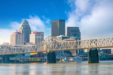 Fotomurales - View of  Skyline downtown Louisville