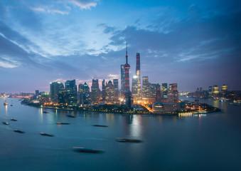 Shanghai at sunrise