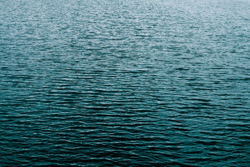 Blue river background.