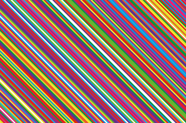 Christmas candle, lollipop pattern. Striped diagonal background with slanted lines. Stripy backdrop Vector illustration