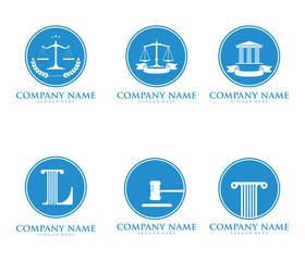 law, lawyer, attorney, vector logo design