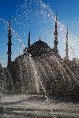Blue Mosque Fountain