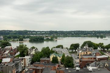 Harrisburg Cityscape in Pennsylvania