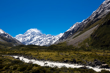 Mount Cook,South Island,New Zealand