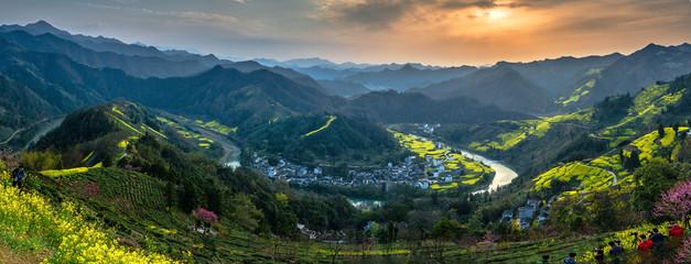 Sokdam village scenery of Shexian County,Anhui province,China