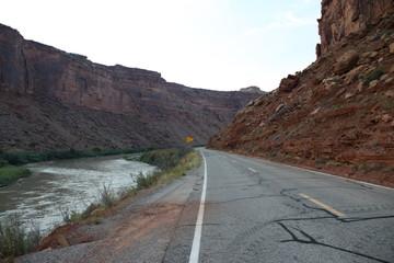 Canyon Land in the USA - Utah
