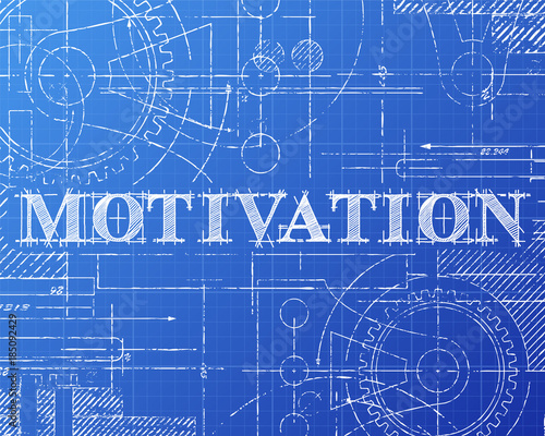 Motivation blueprint tech drawing imgenes de archivo y vectores motivation blueprint tech drawing malvernweather Images