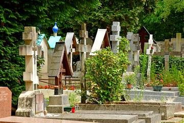 Sainte Genevieve des Bois, France - june 22 26 17 : russian cemetery
