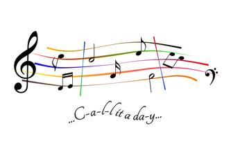 Spartito musicale Call it a day