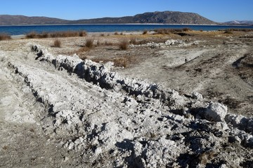 Lake Salda is a mid-size crater lake in southwestern Turkey, within the boundaries of Yeşilova district depending Burdur Province, and it lies at a distance of about fifty kilometers to the west from