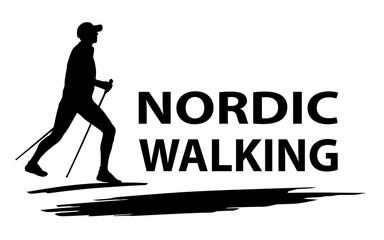 Nordic Walking - 88 Wall mural
